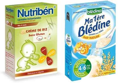 Quelle céréale dans le biberon de bébé ?