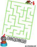 Les labyrinthes bonbons !