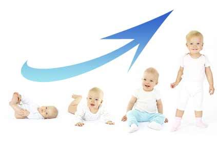 Le développement de bébé