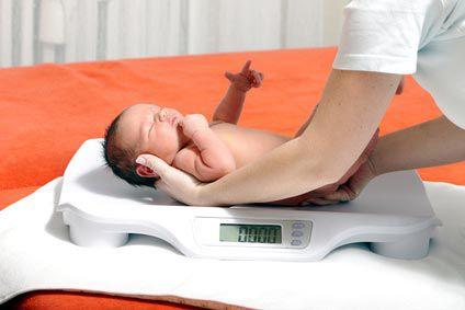 Le poids de bébé: son évolution