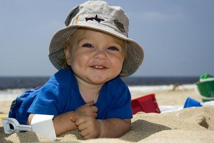 Bébé part en vacances